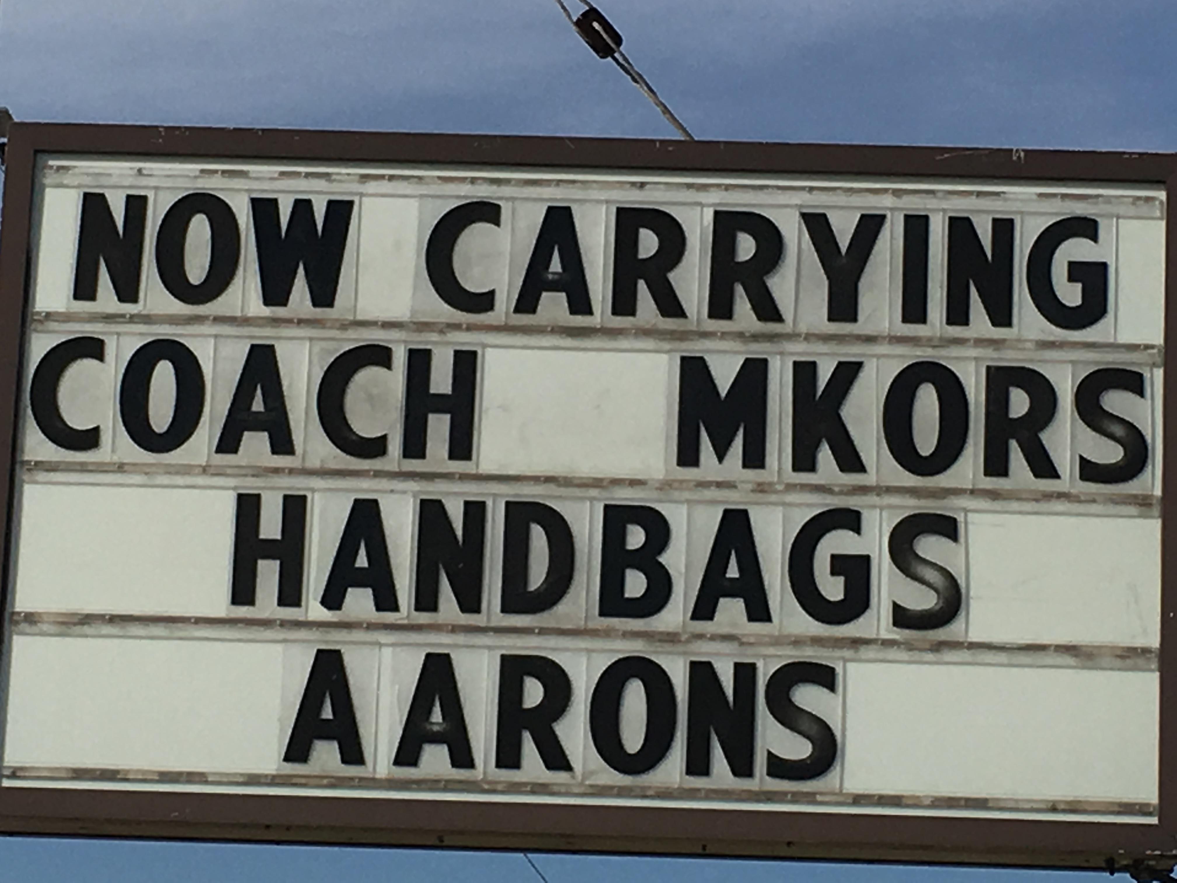 handbag humanfuckery